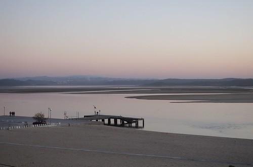 portugal fozdoarelho oeste leiria sunset laguna