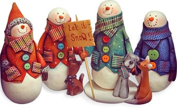 walker_karen_snowmen | by cynthia tinapple