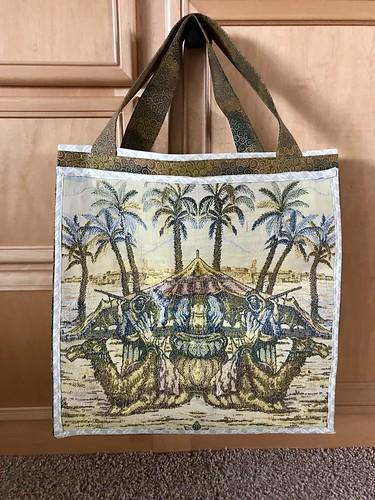 Vintage panel bag project | by konarheim