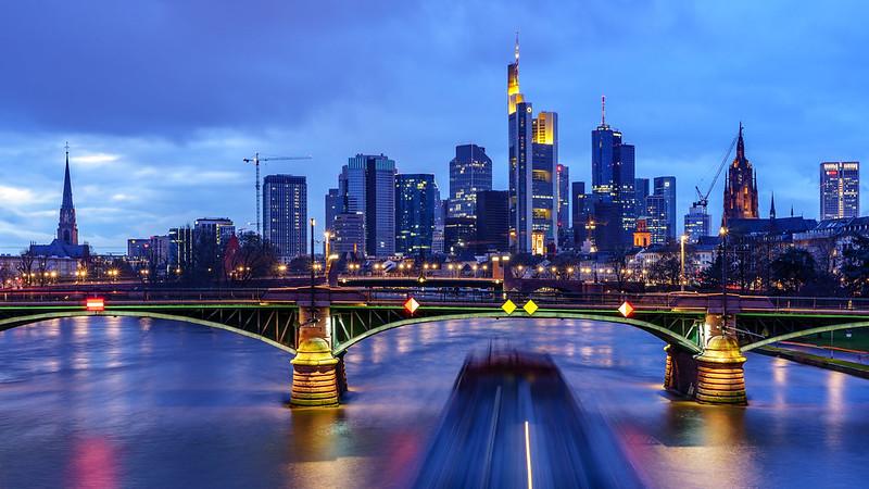 Сити. Frankfurt Skyline