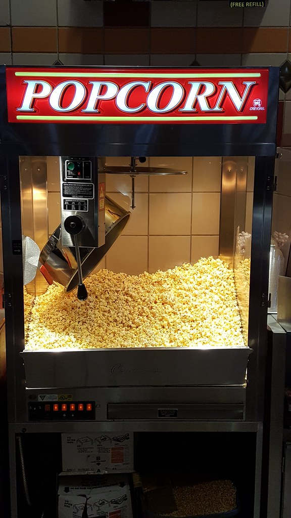 Movie Theater Popcorn Machine A Concessions Stand Popcorn Flickr
