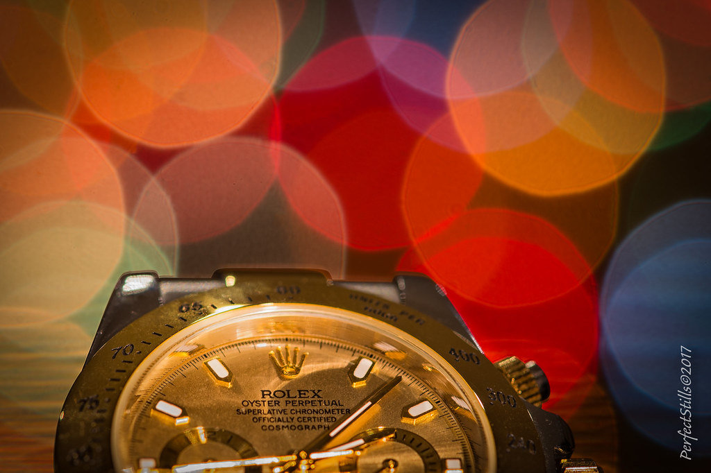 Early Christmas Present.Early Christmas Present With Coloured Bokeh The Rolex Oyst