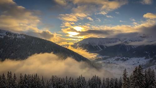iphonex davos sunset alpen swiss sky himmel schweiz sonnenuntergang ngc