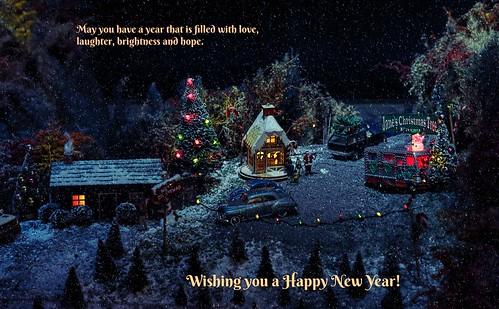 brandywinerailroad town christmas miniature display brandywinemuseumofart chaddsford pennsylvania modeltrains scalemodel happynewyear 2018 greeting card winter canoneos5dmarkiii ef24105mmf4lisusm milliecruz landscape