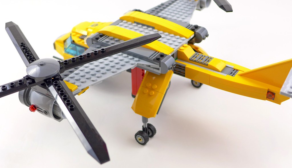 LEGO City Jungle 60162 Jungle Air Drop Helicopter 120   Flickr