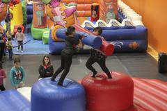 El parque, abierto del 26 de diciembre al 4 de enero, ofrece una amplia variedad de hinchables, elementos de jumping, talleres, juegos, ludoteca, videoconsolas, camas elásticas para niños y niñas de entre 2 y 12 años.