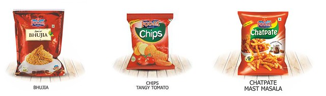 Offer Your Guests Potato Chips Kurkure and Bhujia