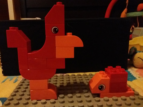 Rooster and Snail | by kocurvelox