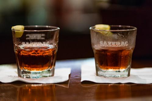 Sazerac Rye Whiskey Drink