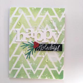 Happy Holidays card | by Kimberly Toney