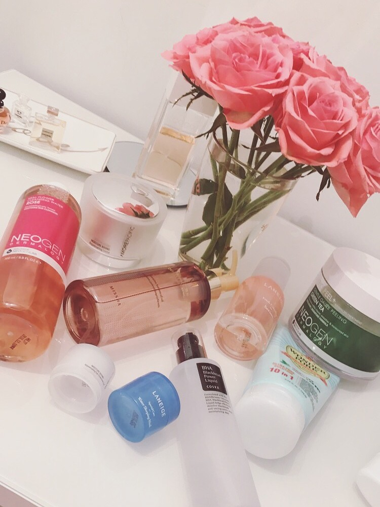 10 - Step Korean Skincare Routine | THE DAILY HAPPINESS