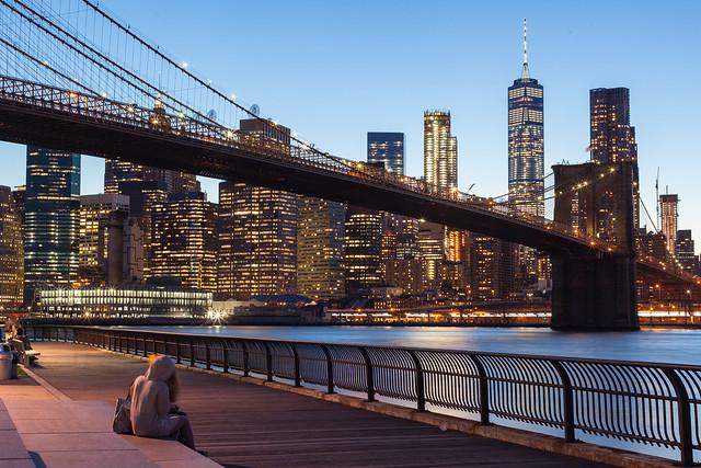 New York - Skyline de Manhattan depuis Brooklyn