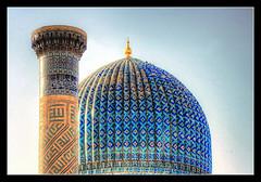 Samarqand UZ -  Gur-e-Amir Mausoleum 03