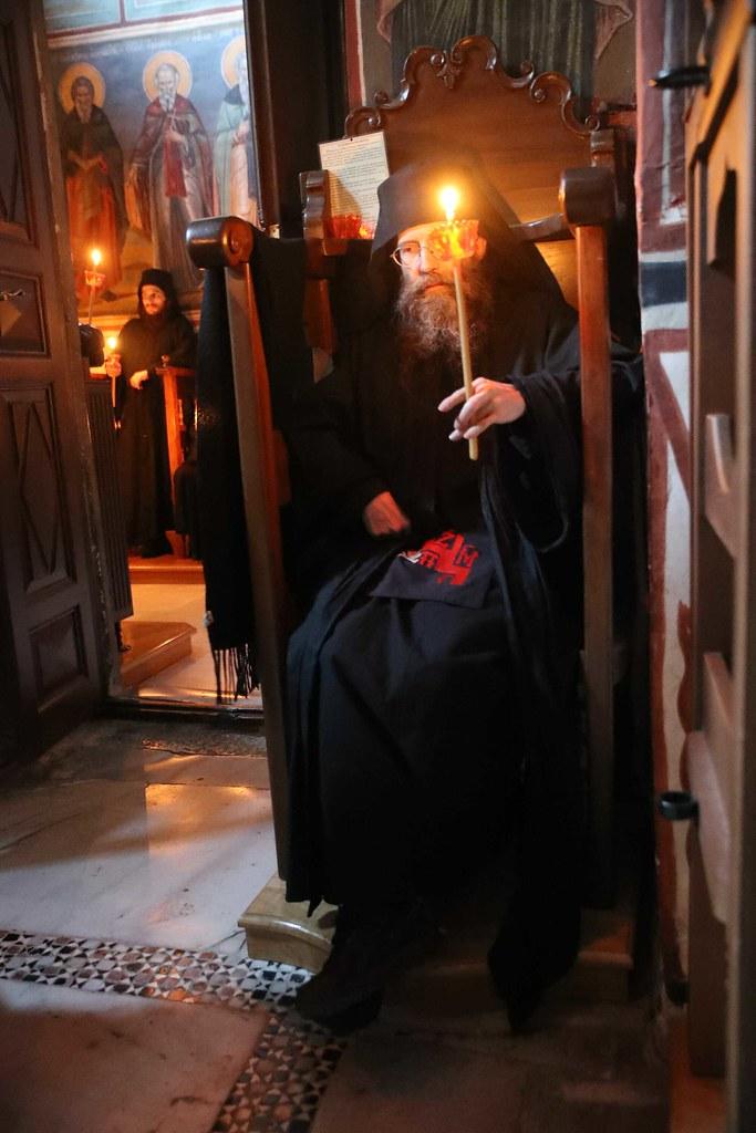 30 декабря 2017, Панихида по ктиторам Ватопедского монастыря на Афоне / 30 December 2017, The Commemoration of the patrons of the Vatopedi Monastery