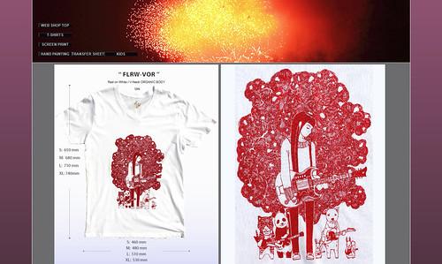 Screen print T-shirts | by Hidetoshi Yamada Daily Life Photos