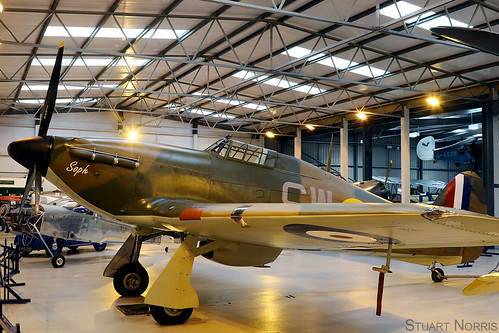 Hurricane I P3717 G-HITT - Bygone Aviation Limited | by stu norris