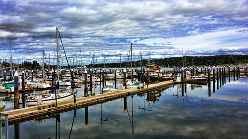 port harbor puerto washinton sea puguet sound