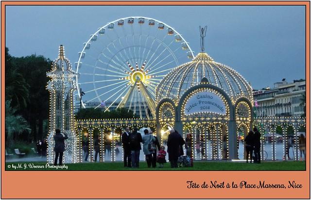 Fête de Noël à la Place Massena, Nice   05