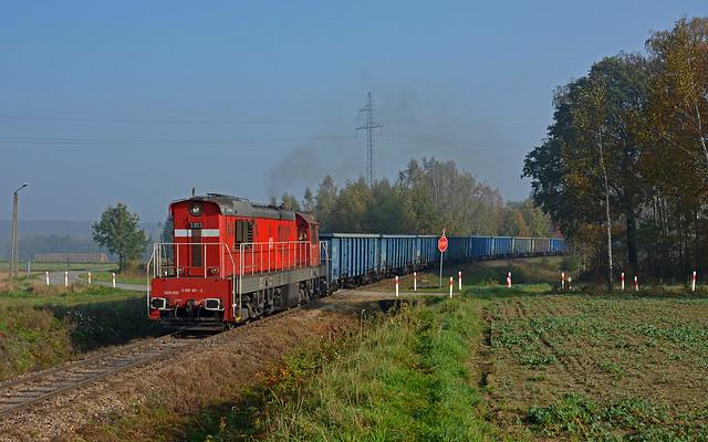 DB Cargo Polska S200-2123 - Pniówek (PL)