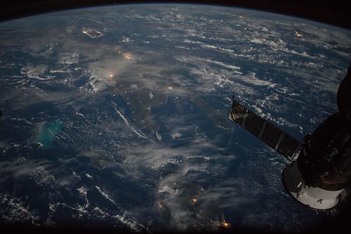 nasa marshall space flight center msfc international station iss astronauts caribbean puerto rico cuba haiti dominican republic
