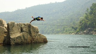 Diving in a river in Meghalaya | by wanderingjatin