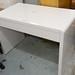 White gloss desk E100