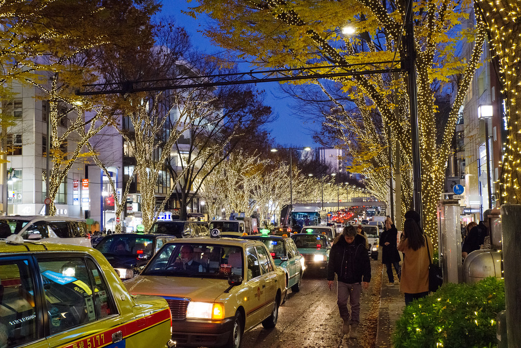 Illumination of Harajuku