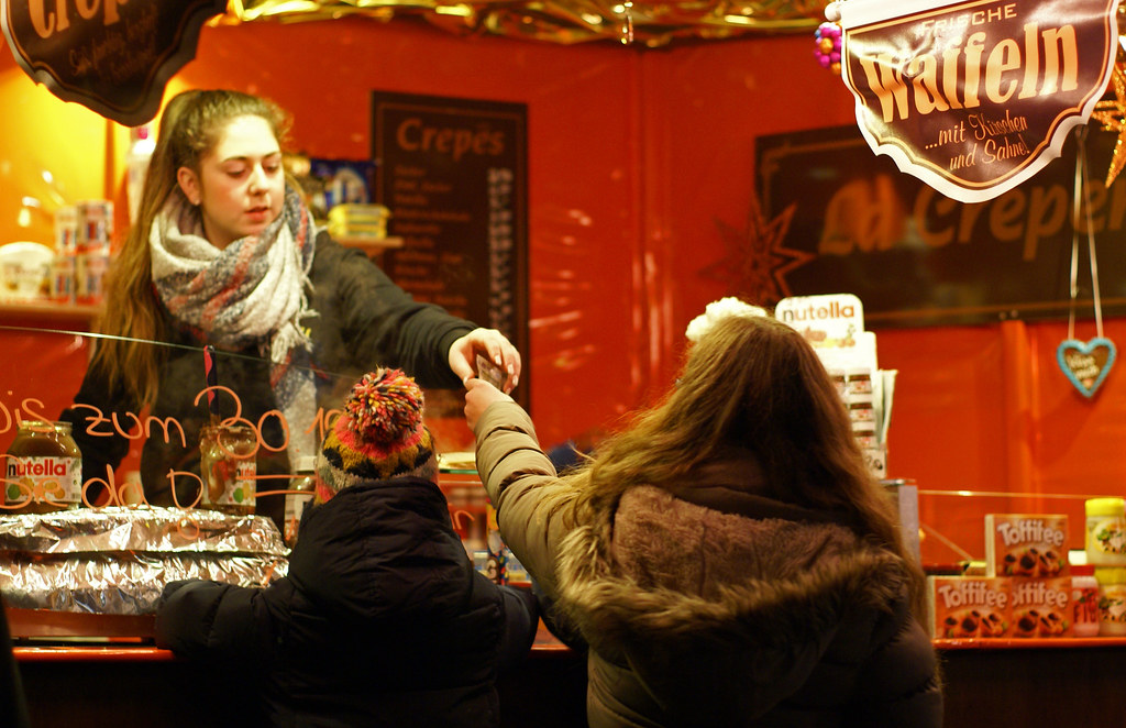 Weihnachtsmarkt W.Mainz Weihnachtsmarkt Waffelstand Christmas Market W Flickr
