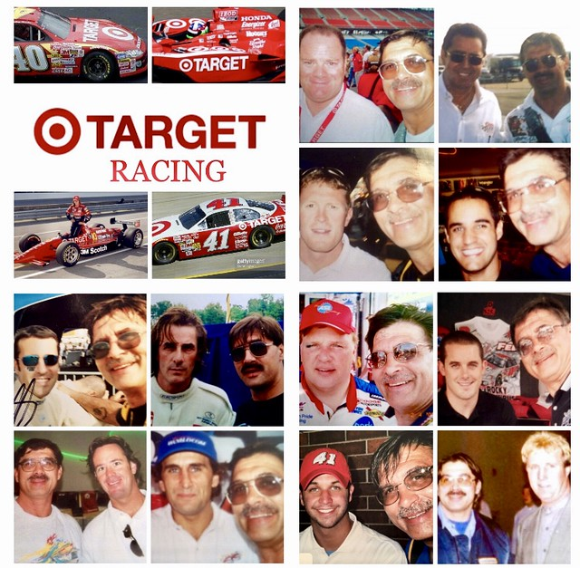 Drivers Sponsored By,  TARGET, INDY, NASCAR,