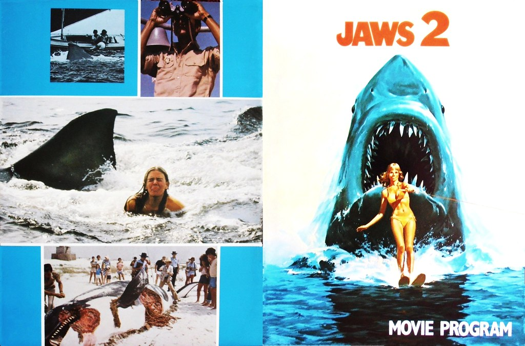 Jaws 2 2 1978 Universal Front Back Covers A Photo On Flickriver
