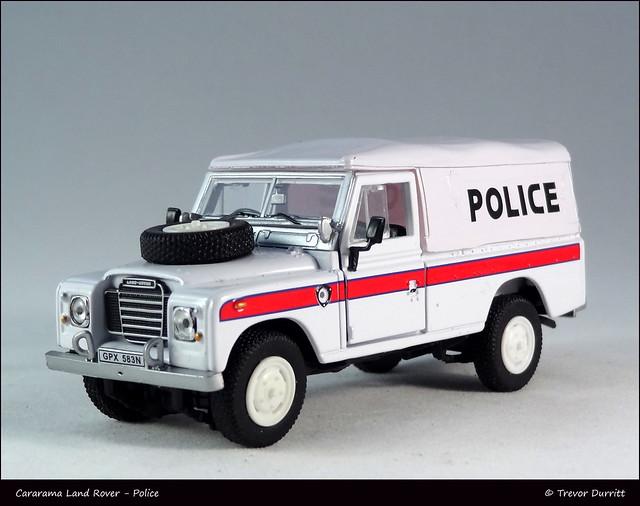 Cararama Land Rover - Police DSC06872