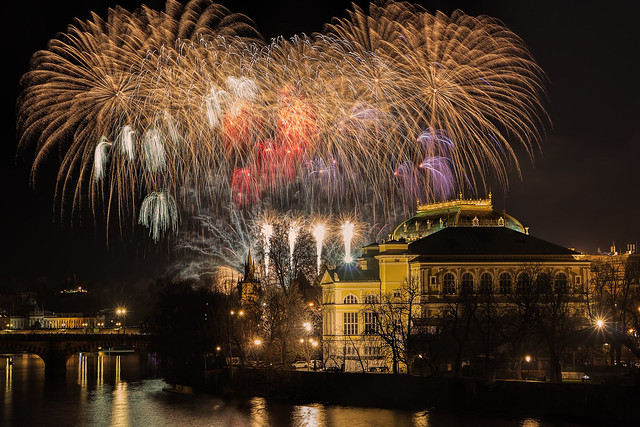 Happy New Year from Prague