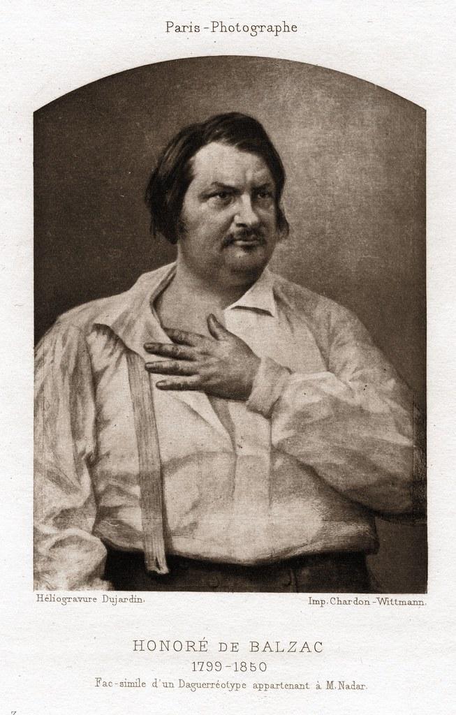 Louis Auguste Bisson Honore De Balzac 18421891 Flickr
