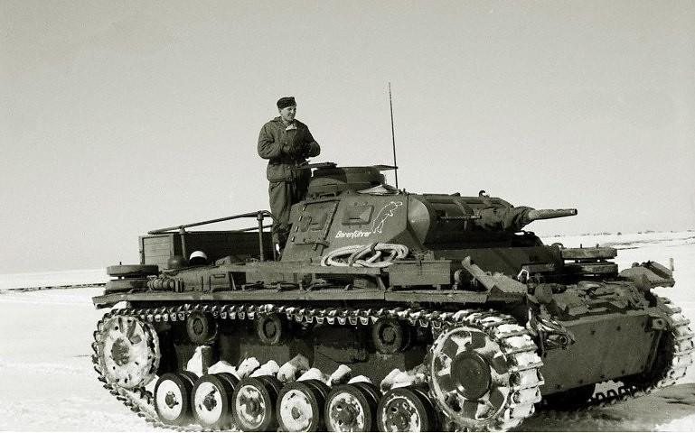 Velitel tanku Pz.III