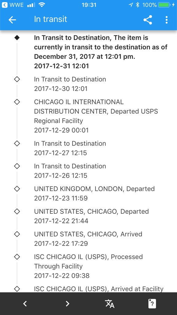 Tracking on Kuckian item gone to shit again they finally a