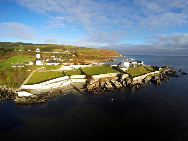 DUNAGREE (SHROOVE) LIGHTHOUSE, SHROVE, INISHOWEN, CO. DONEGAL, IRELAND.