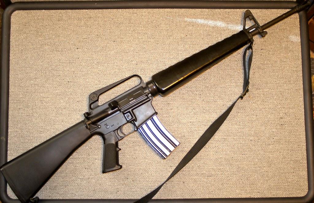 AR-15 Rifle   I am a collector of World War II artifacts, so