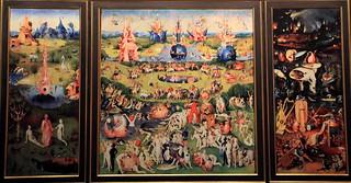 """""""Le jardin des délices"""" 1460 Jérôme Bosch (1450-1516), Jhe ..."""