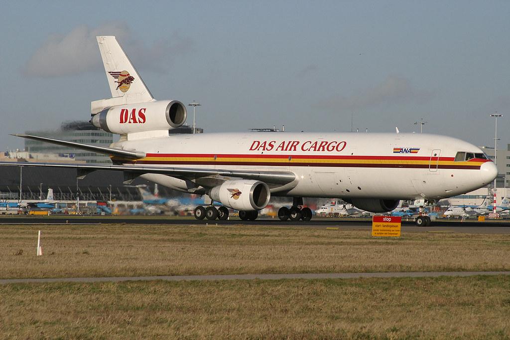 5X-JCR, McDonnell Douglas DC-10-30F DAS Air Cargo @ Amsterdam AMS EHAM