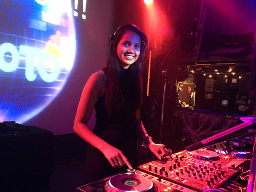 DJ Neecy at HoHoTO 2017