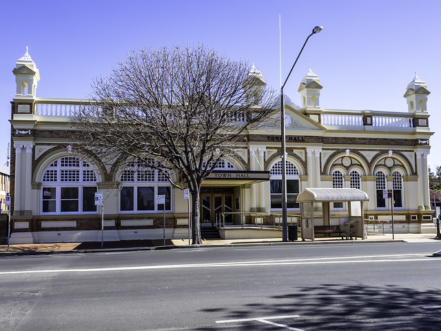 Former Inverell Town Hall and Memorial Hall - built 1905 - SEE BELOW