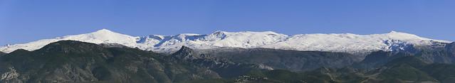 Panorámica Sierra Nevada, Granada España