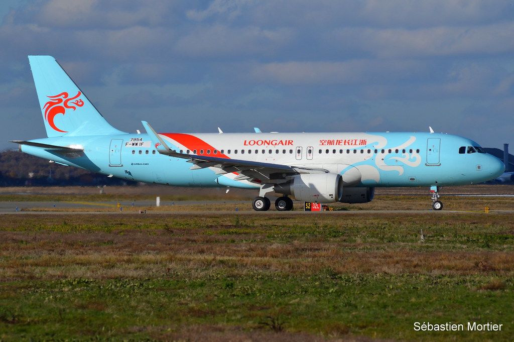 320.214-SHK LOONG AIR F-WWIF 7954 TO B-8868 12 12 17 TLS