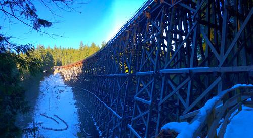 kinsol trestle railway trail trans canada