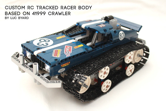 Custom tracked RC body 1