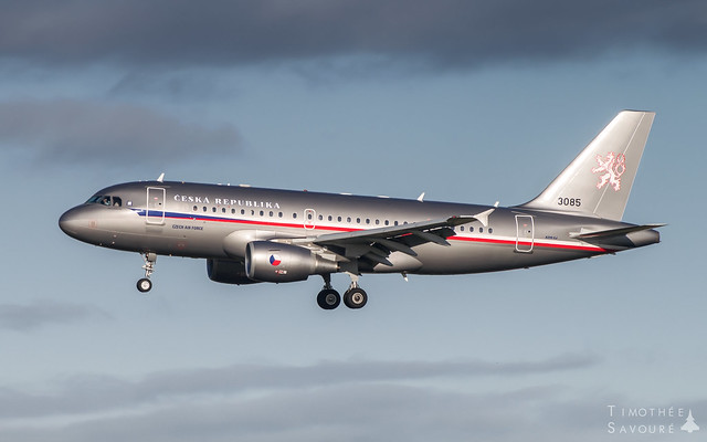 LBG | Czech Air Force Airbus A319