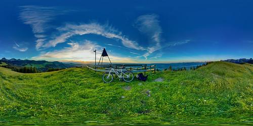 gurnigel 815f4l sunset fisheye bike hdrdri sky stöckli canon 5dmkiii wolken landschaft bern schweiz