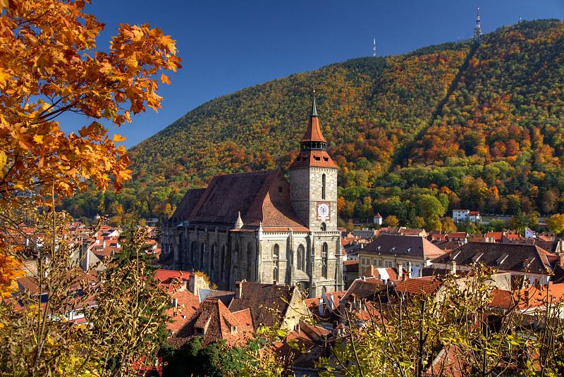 Brasov in Autumn
