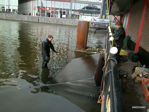 Opwaartse druk van 6000 kg