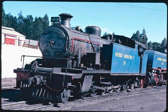 Vryheid Coronation Ltd Colliery (South Africa) - 4-8-2T steam locomotive Nr. 1 &